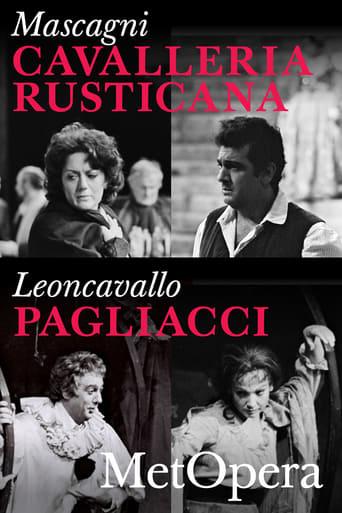 Poster of Cavalleria Rusticana/Pagliacci