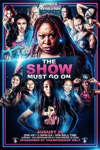 Poster of WWR The Show Must Go On