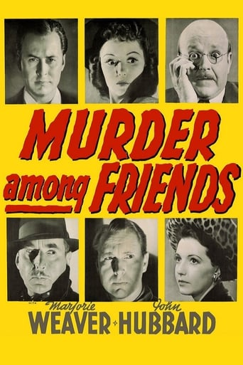 Poster of Murder Among Friends