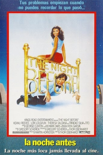 Poster of La noche antes