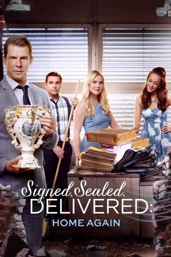 Poster of Signed, Sealed, Delivered: Home Again