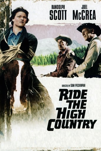 Poster of Ride the High Country