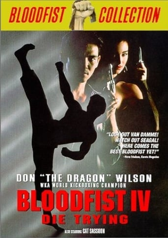 Poster of Bloodfist IV: Die Trying