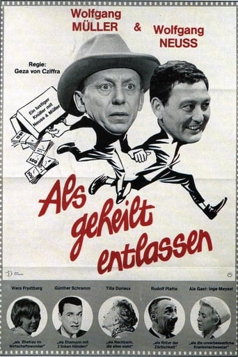 Poster of Als geheilt entlassen