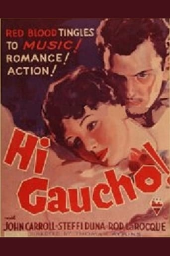 Poster of Hi, Gaucho!