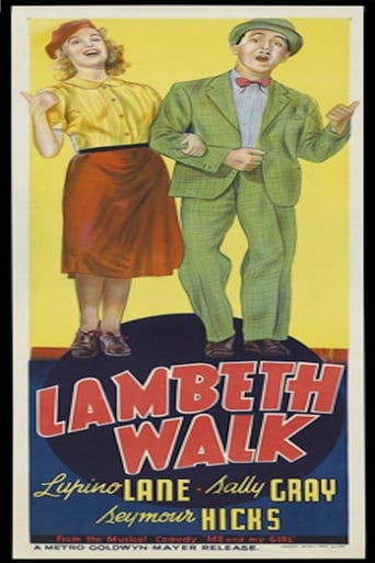 Poster of The Lambeth Walk