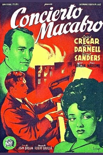 Poster of Concierto macabro