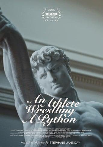 An Athlete Wrestling A Python