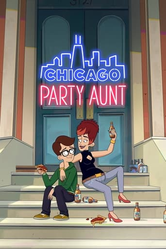 Chicago Party Aunt Poster