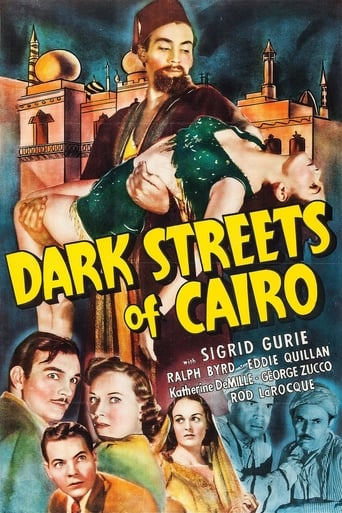 Poster of Dark Streets of Cairo