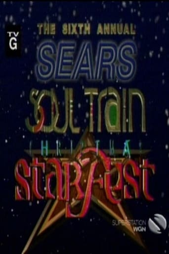 Poster of The 6th Annual Sears Soul Train Christmas Starfest