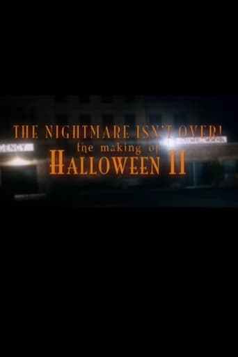 Poster of The Nightmare Isn't Over! The Making of Halloween II