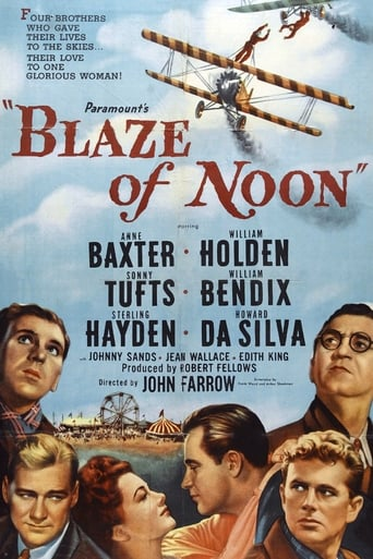 Poster of Blaze of Noon