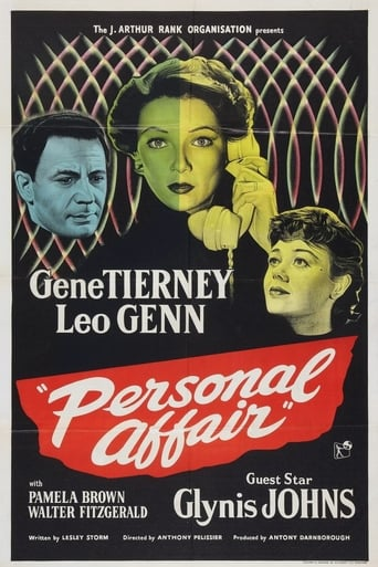 Poster of Personal Affair