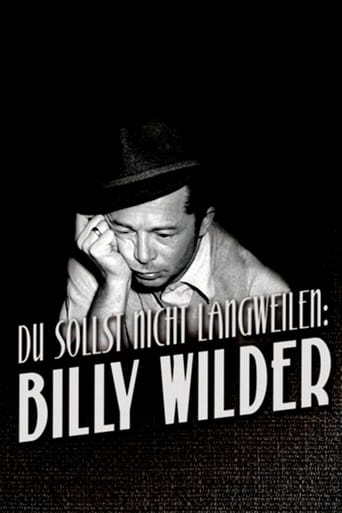 Poster of Never Be Boring: Billy Wilder