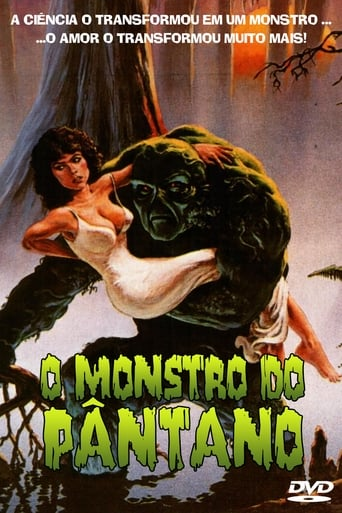 O Monstro do Pântano - Poster