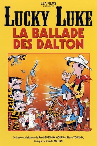 Poster of Lucky Luke: The Ballad of the Daltons
