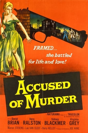 Poster of Accused of Murder