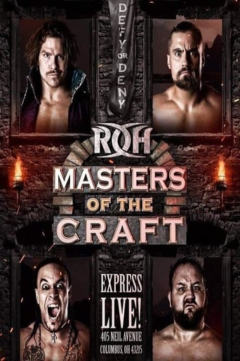 ROH Masters Of The Craft 2018 Movie Poster