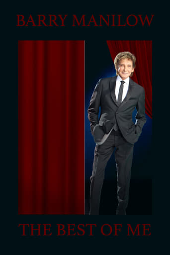 Poster of Barry Manilow - The Best of Me Live