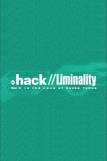 Poster of .hack Liminality: In the Case of Kyoko Tohno