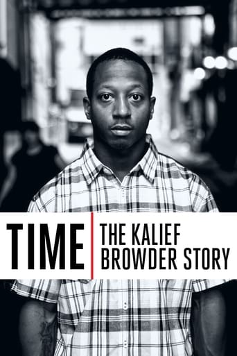 Poster of Time: The Kalief Browder Story