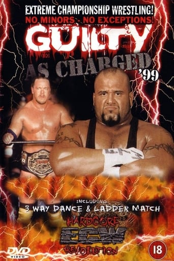 Poster of ECW Guilty as Charged 1999