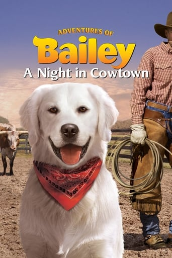 Poster of Adventures of Bailey: A Night in Cowtown