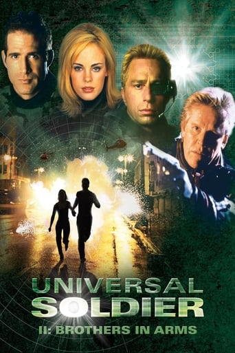 Poster of Universal Soldier II: Brothers in Arms