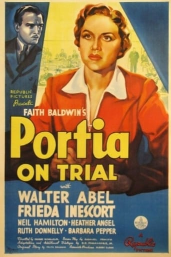 Poster of Portia on Trial