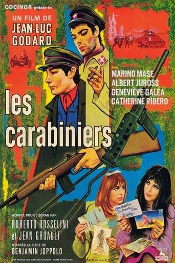 Poster of Los carabineros