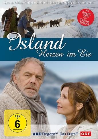 Poster of Island - Herzen im Eis