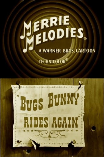 Bugs Bunny Rides Again Movie Poster