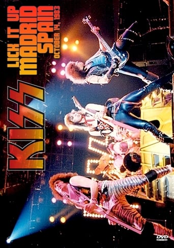 Poster of Kiss [1983] Madrid 1983