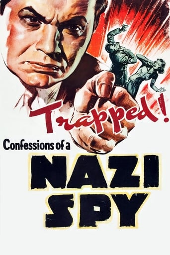 Poster of Confessions of a Nazi Spy