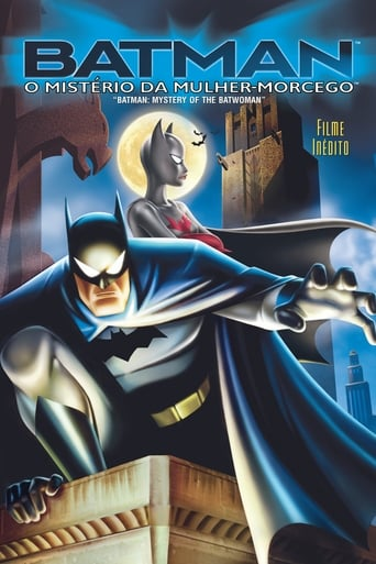 Batman: O Mistério da Mulher Morcego - Poster