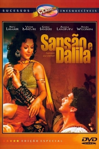 Sansão e Dalila - Poster