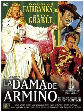 Poster of La dama de armiño