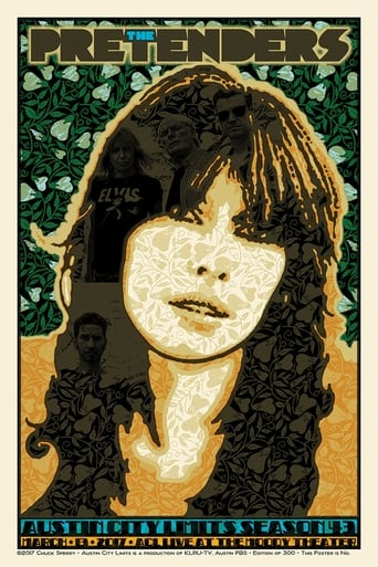Poster of The Pretenders at Austin City Limits