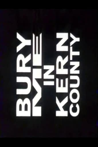Poster of Bury Me in Kern County