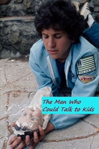 Poster of The Man Who Could Talk to Kids
