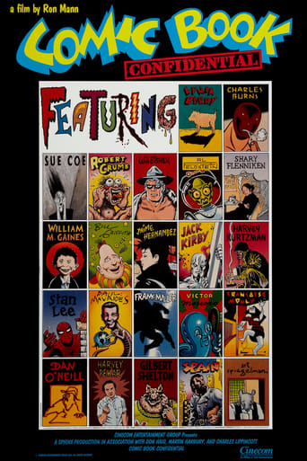 Poster of Comic Book Confidential