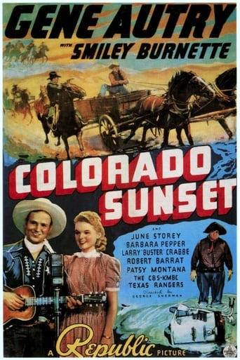 Poster of Colorado Sunset