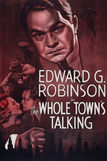 Poster of The Whole Town's Talking