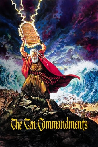 Poster of The Ten Commandments