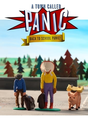 A Town Called Panic: Back to School Panic! Movie Poster