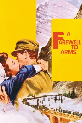 A Farewell to Arms (1957) - poster