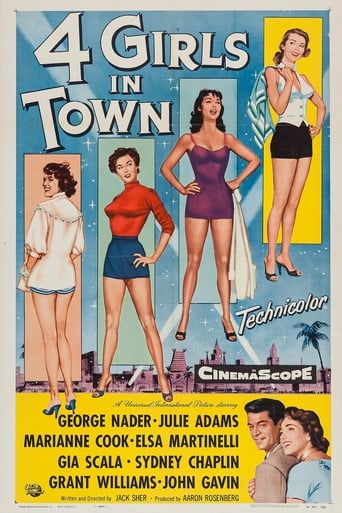 Poster of Four Girls in Town