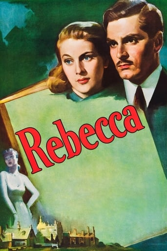 Official movie poster for Rebecca (1940)