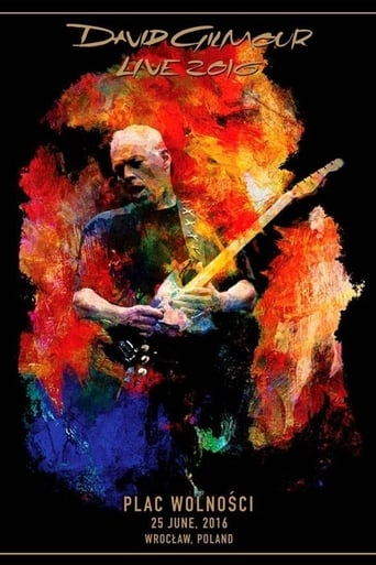 Poster of David Gilmour - Rattle That Lock World Tour